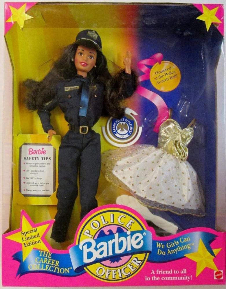 バービー バービー人形 日本未発売 Mattel Police Officer Barbie Black Hairバービー バービー人形 日本未発売