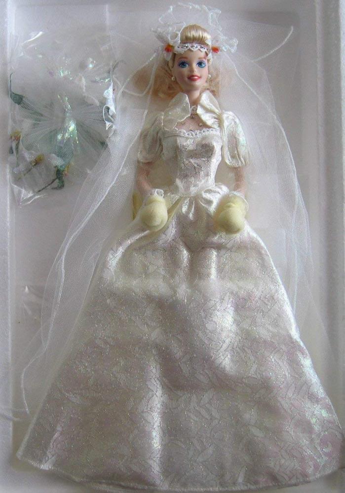 バービー バービー人形 ウェディング ブライダル 結婚式 Mattel Star Lily Bride Barbie Porcelain Doll Limited Edition (1994)バービー バービー人形 ウェディング ブライダル 結婚式