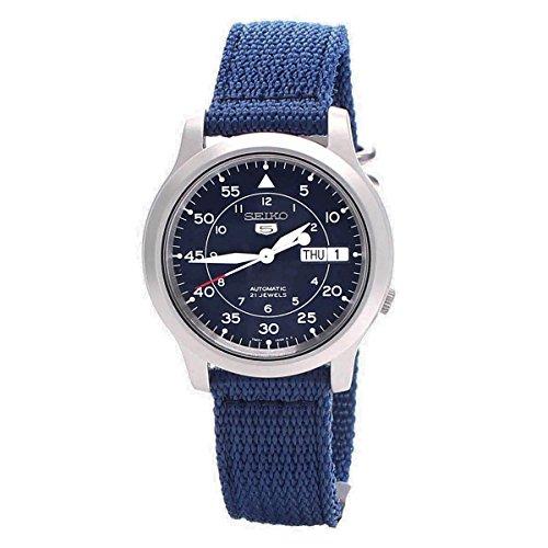 セイコー 腕時計 メンズ 【送料無料】SNK807K2 Mens Blue Casual Seiko Watchセイコー 腕時計 メンズ