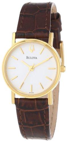 ブローバ 腕時計 レディース 【送料無料】Bulova Women's 97L102 Strap White Dial Watchブローバ 腕時計 レディース