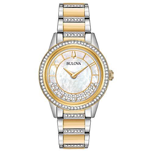 ブローバ 腕時計 レディース 【送料無料】Bulova Turnstyle Quartz Movement Watch (Model: 98L245)ブローバ 腕時計 レディース