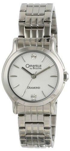 ブローバ 腕時計 レディース 【送料無料】Caravelle by Bulova Women's 43P109 Round Bracelet Watchブローバ 腕時計 レディース