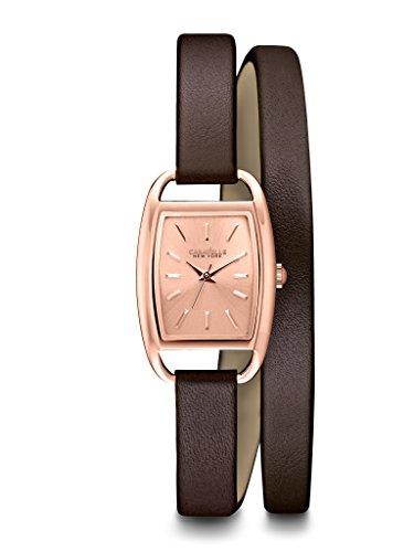 ブローバ 腕時計 レディース 【送料無料】Caravelle New York Women's 44L123 Analog Display Japanese Quartz Brown Watchブローバ 腕時計 レディース