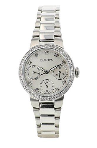 ブローバ 腕時計 レディース 【送料無料】Bulova Women's Analog White Dial Japanese-Quartz Watch (Model:96N108)ブローバ 腕時計 レディース