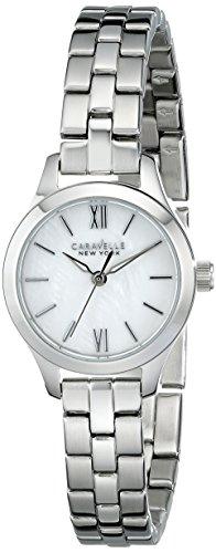 腕時計 ブローバ レディース 【送料無料】Caravelle New York Women's 43L177 Analog Display Analog Quartz White Watch腕時計 ブローバ レディース