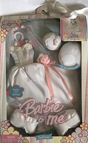 バービー バービー人形 着せ替え 衣装 ドレス Barbie & ME Easy to Dress Bridal Fashions & Accessories (2004)バービー バービー人形 着せ替え 衣装 ドレス