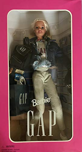 バービー バービー人形 日本未発売 Barbie Gap Doll w Black HAT has Gap Decal, Black Backpack has Gap Decal, Pair Gap Blue Jeans, & More (1996)バービー バービー人形 日本未発売