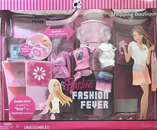 バービー バービー人形 日本未発売 プレイセット アクセサリ Barbie Fashion Fever Shopping Boutique Shop Playset w Fashions, Counter, Cash Register & More! (2007)バービー バービー人形 日本未発売 プレイセット アクセサリ