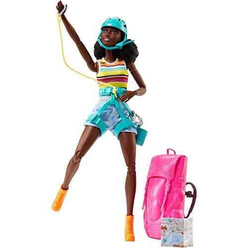 バービー バービー人形 【送料無料】Barbie Camping Fun AA African American Hikerバービー バービー人形