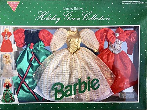 バービー バービー人形 着せ替え 衣装 ドレス Mattel Barbie Holiday Gown Collection - Set of 3バービー バービー人形 着せ替え 衣装 ドレス