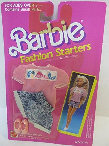 バービー バービー人形 着せ替え 衣装 ドレス 【送料無料】Barbie Fashion Starters 1989 Issueバービー バービー人形 着せ替え 衣装 ドレス