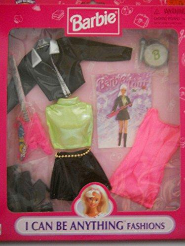 バービー バービー人形 着せ替え 衣装 ドレス Mattel Barbie Fashion Avenue I can be Anything Rock Star Barbie Tour Fashions Outfits Setバービー バービー人形 着せ替え 衣装 ドレス