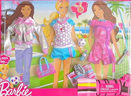 バービー バービー人形 着せ替え 衣装 ドレス BARBIE I Can Be FASHIONS w SOCCER SPORTS Fashion Outfits & Accessories (2010)バービー バービー人形 着せ替え 衣装 ドレス