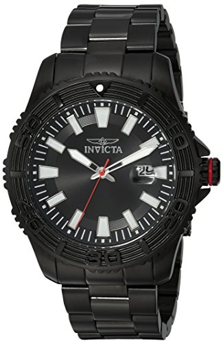 インヴィクタ インビクタ プロダイバー 腕時計 メンズ 【送料無料】Invicta Men's Pro Diver Quartz Watch with Stainless-Steel Strap, Black, 22 (Model: 22411)インヴィクタ インビクタ プロダイバー 腕時計 メンズ