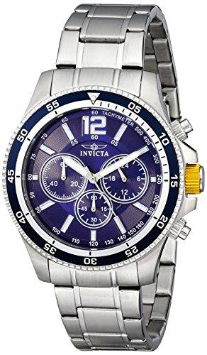 インヴィクタ インビクタ 腕時計 メンズ 【送料無料】Invicta Men's 13974 Specialty Analog Display Japanese Quartz Silver Watchインヴィクタ インビクタ 腕時計 メンズ