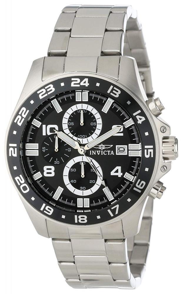インヴィクタ インビクタ プロダイバー 腕時計 メンズ Invicta Men's 13864 Pro Diver Chronograph Black Dial Stainless Steel Watchインヴィクタ インビクタ プロダイバー 腕時計 メンズ