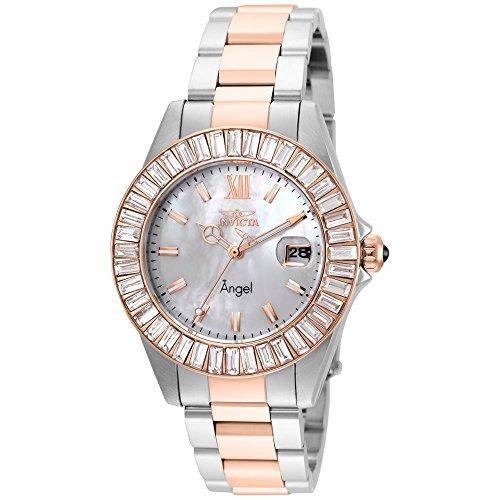 インヴィクタ インビクタ エンジェル 腕時計 レディース 【送料無料】Invicta Women's Angel Quartz Watch with Stainless Steel Strap, Two Tone, 18 (Model: 22325)インヴィクタ インビクタ エンジェル 腕時計 レディース
