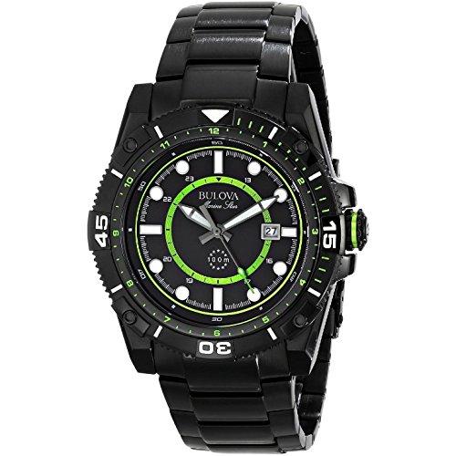 ブローバ 腕時計 メンズ 【送料無料】Bulova 98B178 Mens All Black Marine Star Watchブローバ 腕時計 メンズ