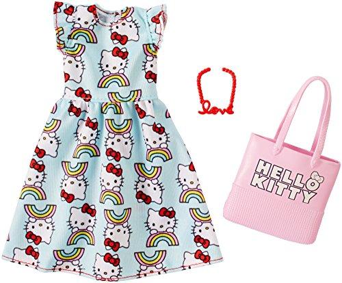 バービー バービー人形 着せ替え 衣装 ドレス 【送料無料】Barbie Hello Kitty Blue Dress Fashion Packバービー バービー人形 着せ替え 衣装 ドレス