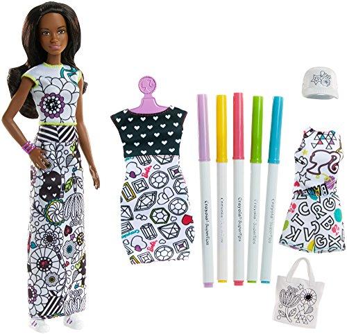 バービー バービー人形 日本未発売 プレイセット アクセサリ Barbie Crayola Color-in Fashions, Brunetteバービー バービー人形 日本未発売 プレイセット アクセサリ