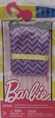 バービー バービー人形 着せ替え 衣装 ドレス BARBIE FASHIONS w Purple DRESS has Yellow BELT (2016 Mattel Canada)バービー バービー人形 着せ替え 衣装 ドレス