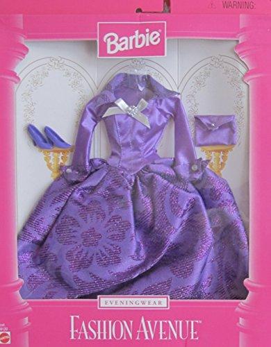 バービー バービー人形 着せ替え 衣装 ドレス Barbie Evening Wear Fashion Avenue Fashions Clothes w Elegant Purple Gown & Accessories (1997)バービー バービー人形 着せ替え 衣装 ドレス