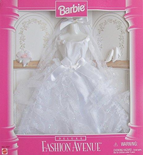 バービー バービー人形 着せ替え 衣装 ドレス Barbie Deluxe Fashion Avenue Bridal Fashions Clothes w Glittery Wedding Gown & Accessories (1996)バービー バービー人形 着せ替え 衣装 ドレス
