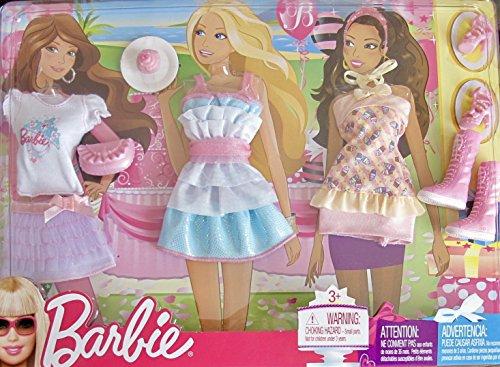 バービー バービー人形 着せ替え 衣装 ドレス 【送料無料】Barbie Fashions w Fun Party Clothes, Pair of Shoes, Boots & Accessories (2009)バービー バービー人形 着せ替え 衣装 ドレス