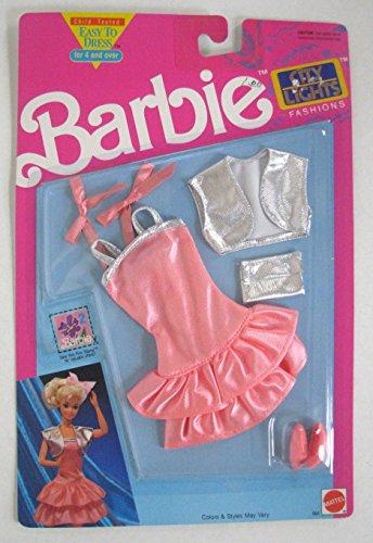 バービー バービー人形 着せ替え 衣装 ドレス Barbie City Lights Fashion Pink Party Dress With Purse and High Heelsバービー バービー人形 着せ替え 衣装 ドレス