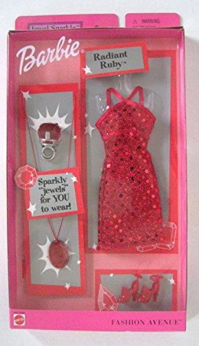 バービー バービー人形 着せ替え 衣装 ドレス Barbie Fashion Avenue Clothes Radiant Ruby Dress with Heels - Bonus Jewelry for You to Wear!バービー バービー人形 着せ替え 衣装 ドレス