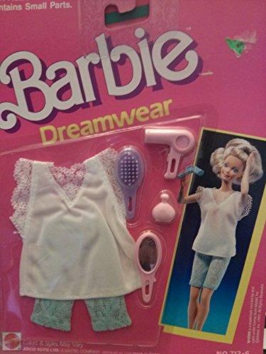 バービー バービー人形 着せ替え 衣装 ドレス Barbie Dreamwear shirt pants 712-6 1989バービー バービー人形 着せ替え 衣装 ドレス