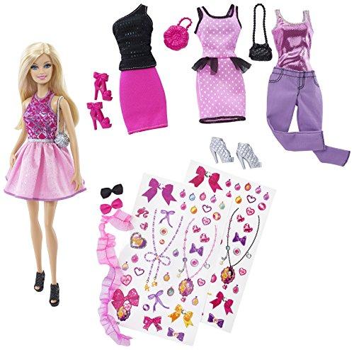 バービー バービー人形 日本未発売 プレイセット アクセサリ 【送料無料】Exclusive Barbie Decorate Fashion Doll and Accessories by Mattelバービー バービー人形 日本未発売 プレイセット アクセサリ