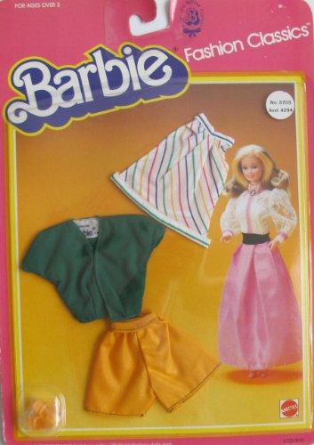 バービー バービー人形 着せ替え 衣装 ドレス BARBIE FASHION CLASSICS Fashions w SKIRT, TOP, Pair of SHORTS & SHOES (1983 Mattel Hawthorne)バービー バービー人形 着せ替え 衣装 ドレス