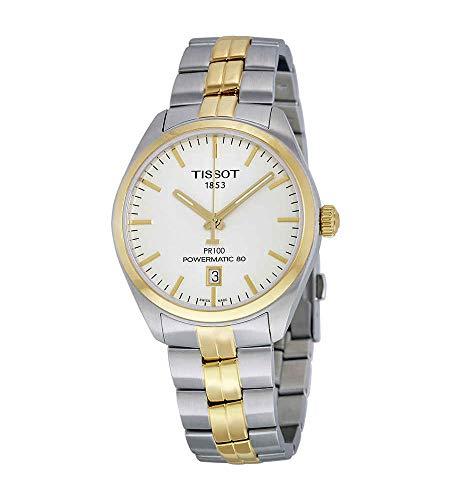 腕時計 ティソ メンズ 【送料無料】Tissot PR 100 Automatic Silver Dial Mens Watch T101.407.22.031.00腕時計 ティソ メンズ