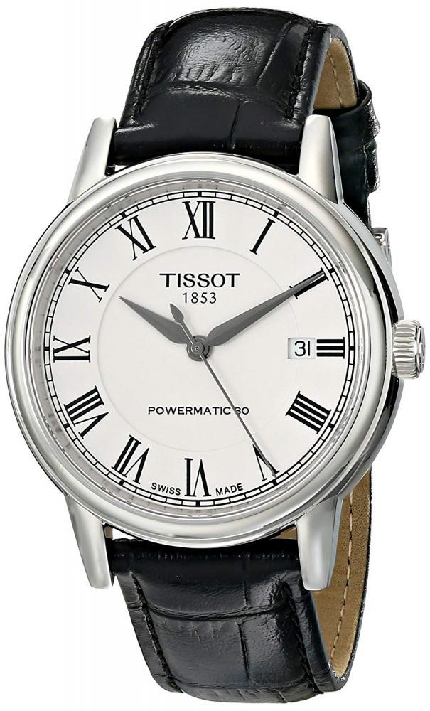ティソ 腕時計 メンズ 【送料無料】Tissot Men's T0854071601300 T Classic Carson Analog Display Swiss Automatic Black Watchティソ 腕時計 メンズ