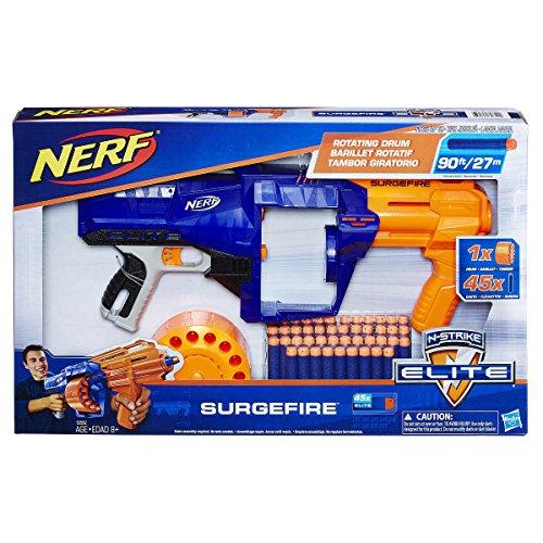 ナーフ エヌストライク アメリカ 直輸入 エリート Nerf N-Strike Elite SurgeFire Includes 45 Elite dartsナーフ エヌストライク アメリカ 直輸入 エリート