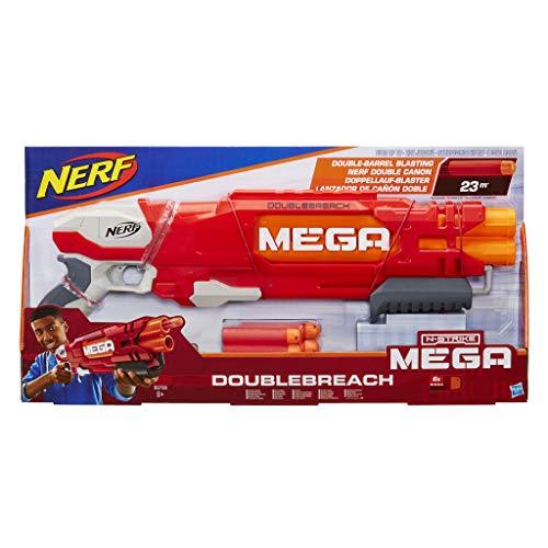 ナーフ メガ エヌストライクエリート アメリカ 直輸入 NERF N-Strike Mega DoubleBreach Blasterナーフ メガ エヌストライクエリート アメリカ 直輸入
