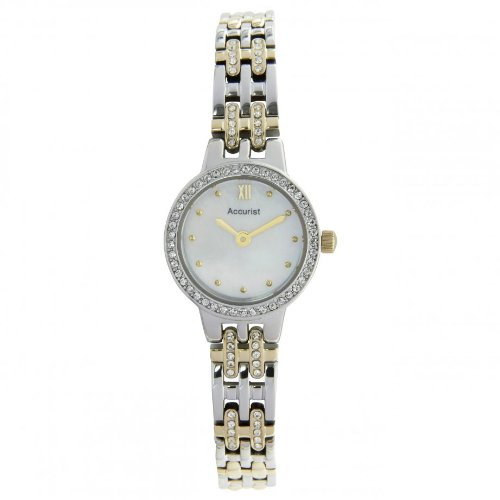 アキュリスト 腕時計 レディース イギリス ロンドン Accurist LB1446 Ladies Two Tone Watch and Bracelet Gift Setアキュリスト 腕時計 レディース イギリス ロンドン