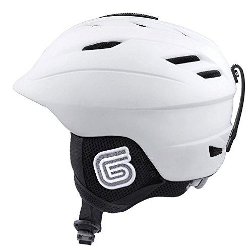 スノーボード ウィンタースポーツ 海外モデル ヨーロッパモデル アメリカモデル Grayne MTN Ski and Snowboard Helmet White w/Audio Ready Liner (Large (59-64cm))スノーボード ウィンタースポーツ 海外モデル ヨーロッパモデル アメリカモデル