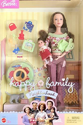 バービー バービー人形 日本未発売 プレイセット アクセサリ G4336 Barbie Happy Family Neighborhood NEW NEIGHBORS w Mom & Baby Dolls (2004)バービー バービー人形 日本未発売 プレイセット アクセサリ G4336