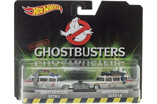 ホットウィール マテル ミニカー ホットウイール DVG08 【送料無料】Hot Wheels, Classic Ghostbusters Ecto-1 and Ecto-1A Die-Cast Vehicle 2-Packホットウィール マテル ミニカー ホットウイール DVG08