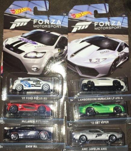 ホットウィール マテル ミニカー ホットウイール Hot Wheels Forza Motorsport Exclusive Collector Set of 6, Concierge Bundle, Diecastホットウィール マテル ミニカー ホットウイール