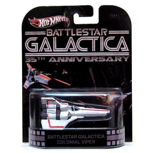 ホットウィール マテル ミニカー ホットウイール X8893 【送料無料】Hot Wheels Retro Battlestar Galactica 35th Anniversary 1:64 Die Cast Vehicle Colonial Viperホットウィール マテル ミニカー ホットウイール X8893