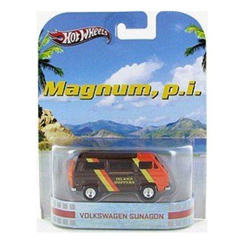 ホットウィール マテル ミニカー ホットウイール NA 【送料無料】Hot Wheels Retro Magnum, P. I. 1:55 Die Cast Car Volkswagen Sunagonホットウィール マテル ミニカー ホットウイール NA