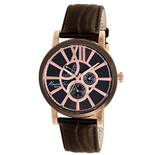 ケネスコール・ニューヨーク Kenneth Cole New York 腕時計 メンズ KC1981 【送料無料】Kenneth Cole New York Men's KC1981 Classic Analog Display Japanese Quartz Brown Watchケネスコール・ニューヨーク Kenneth Cole New York 腕時計 メンズ KC1981