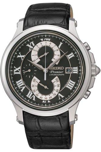 セイコー 腕時計 メンズ 夏のボーナス特集 SPC067P2 Seiko Premier Chronograph Men's Quartz Watch SPC067P2セイコー 腕時計 メンズ 夏のボーナス特集 SPC067P2