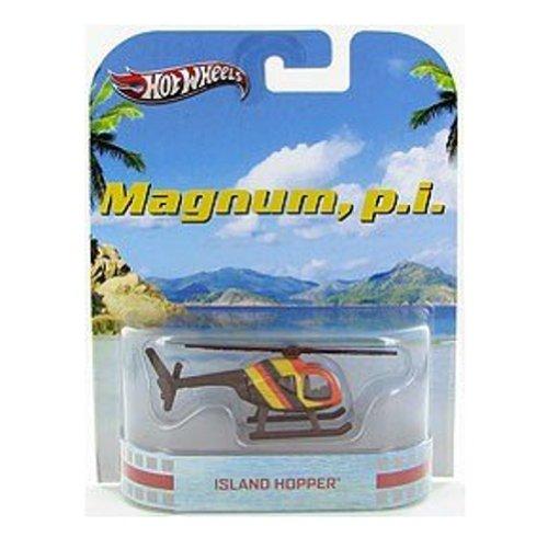 ホットウィール マテル ミニカー ホットウイール 【送料無料】Hot Wheels Retro Magnum, P. I. 1:55 Die Cast Vehicle Island Hopperホットウィール マテル ミニカー ホットウイール