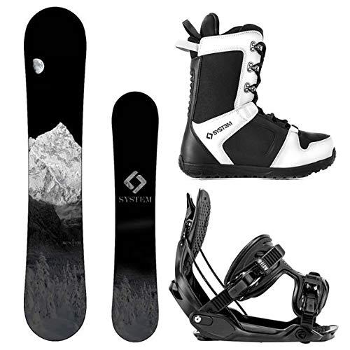 スノーボード ウィンタースポーツ キャンプセブン 2017年モデル2018年モデル多数 Camp Seven System MTN Snowboard and Flow Alpha MTN Men's Complete Snowboard Package 2018 (147, Sizスノーボード ウィンタースポーツ キャンプセブン 2017年モデル2018年モデル多数