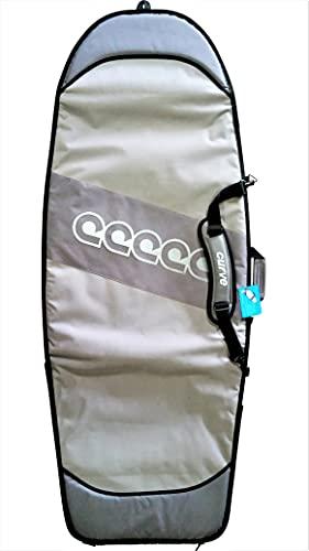 サーフィン ボードケース バックパック マリンスポーツ 【送料無料】Curve Mini Simmons Surfboard Bag Travel - Boost Retro Single with 20mm Foam Size 5'3 to 6'3 (5'9 Retro)サーフィン ボードケース バックパック マリンスポーツ
