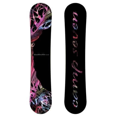 スノーボード ウィンタースポーツ キャンプセブン 2017年モデル2018年モデル多数 【送料無料】Camp Seven New Featherlite Snowboard (150 cm)スノーボード ウィンタースポーツ キャンプセブン 2017年モデル2018年モデル多数